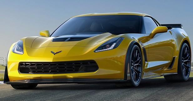 Corvette C7 Z06 : sa puissance revue à la hausse
