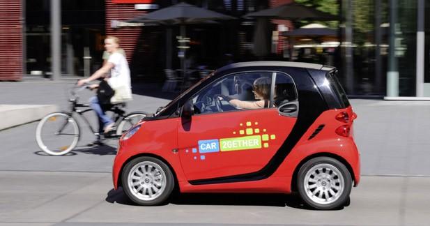 Un réel potentiel pour l'autopartage en France