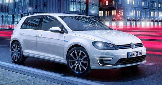 La Volkswagen Golf GTE dévoile ses tarifs