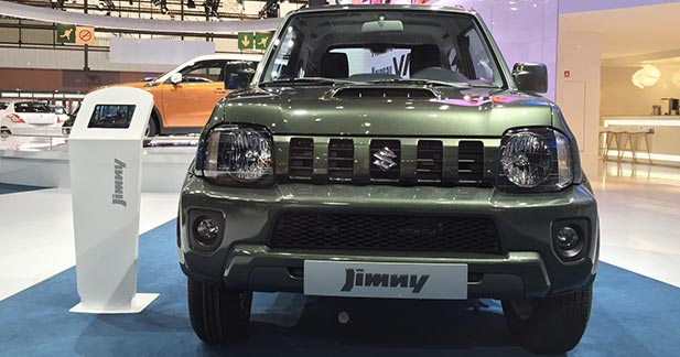 mondial auto 2014 suzuki jimny restylage pour v t ran. Black Bedroom Furniture Sets. Home Design Ideas