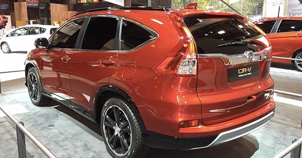 Mondial Auto 2014 : Honda CR-V restylé, apologie du downsizing