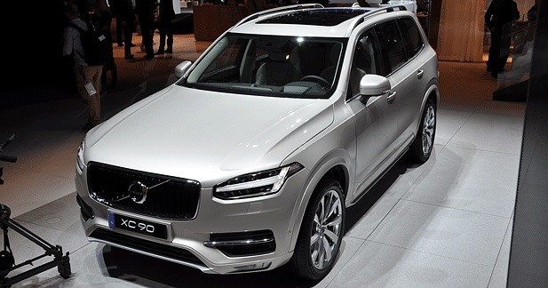 Mondial Auto 2014 : Volvo XC90, le Thor suédois