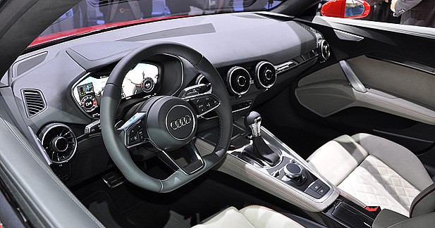 mondial auto 2014 audi tt sportback concept. Black Bedroom Furniture Sets. Home Design Ideas