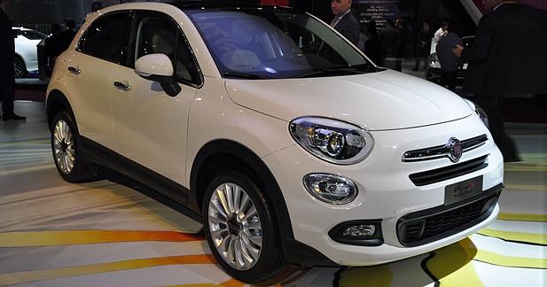 Mondial Auto 2014 : Fiat 500X