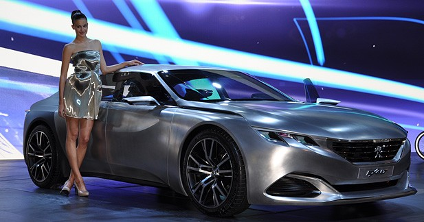 Mondial Auto 2014 : Peugeot Exalt