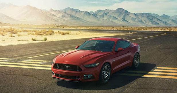 50 nouveaux heureux acheteurs pour la Ford Mustang !