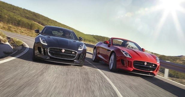 Du nouveau pour la Jaguar F-Type