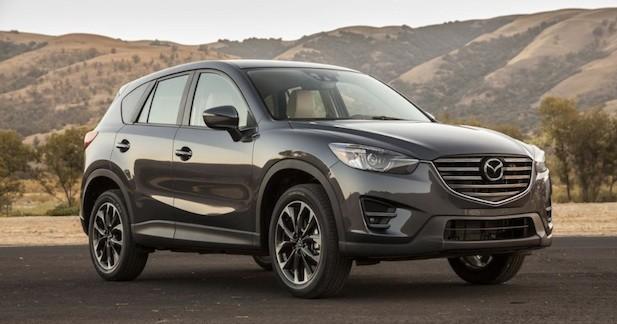 Léger lifting pour le Mazda CX-5