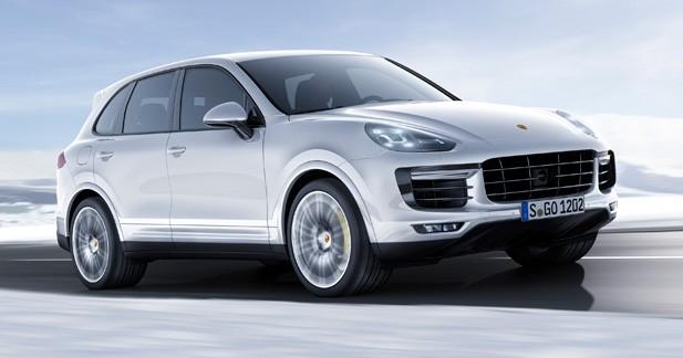 Detroit 2015: Porsche Cayenne Turbo S, la performance coûte que coûte