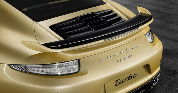 Porsche 911 Turbo: un kit carrosserie maison facturé 5000 euros