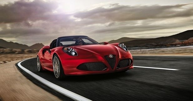 Alfa Romeo 4C Spider: le tarif dévoilé