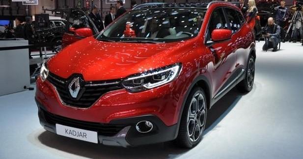 Renault Kadjar : les photos du salon de Genève
