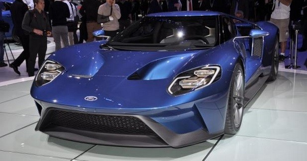 Ford GT : les photos du salon de Genève