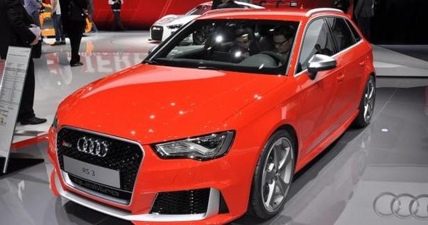Audi RS3 Sportback: fidèle au 5 cylindres