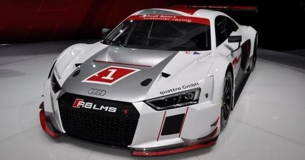 Audi R8 LMS: sur les circuits dès 2016