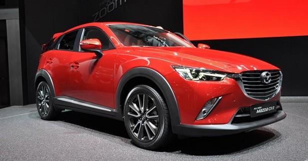 Mazda CX-3: la «2» prend de la hauteur