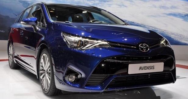Toyota Avensisrestylée : accent bavarois sous le capot