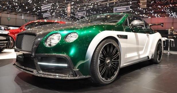 Mansory dévoile une Bentley Continental GT de 1001 ch