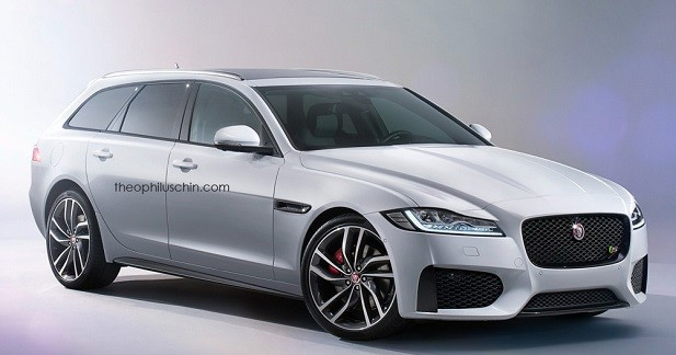 Le style de la future Jaguar XF Sportbrake