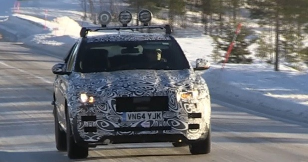 Première vidéo du Jaguar F-Pace