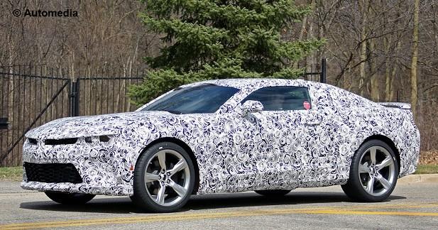 Spyshots: la Chevrolet Camaro SS de 2016 surprise sur la route