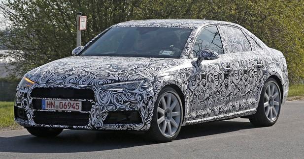 Spyshots: 4 ou 6 cylindres pour la prochaine Audi S4