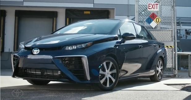 Toyota Mirai: la bouse de vache comme carburant