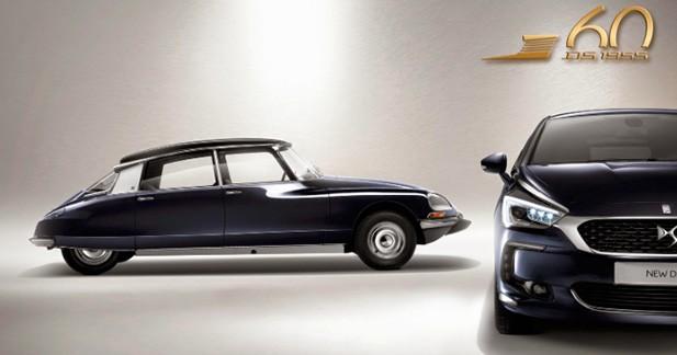 Une série spéciale «1955» pour les 60 ans de la Citroën DS