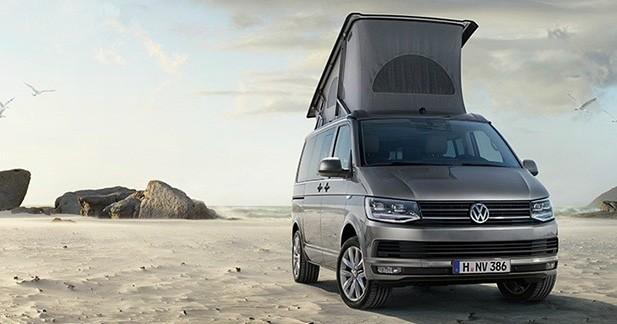 Le Volkswagen California est prêt pour les vacances