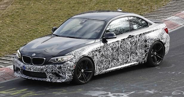 Spyshots : la BMW M2 se prépare pour le salon de Francfort