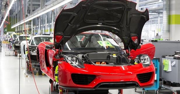 Porsche 918 Spyder: la production touche à sa fin