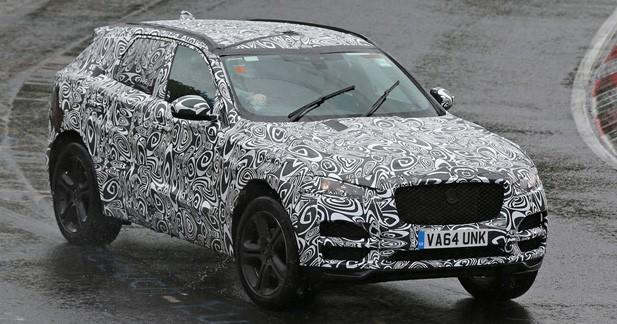 Spyshots: le Jaguar F-Pace en montre un peu plus