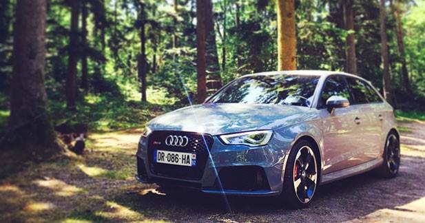 Essai Audi RS3 : bouillonnante !