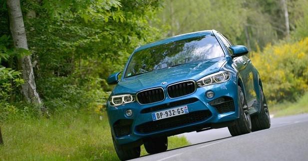 BMW X6 M: un temps de 8'20 sur le Nürburgring?
