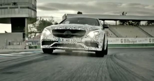 La Mercedes-AMG C 63 Coupé fait trembler le circuit de Hockenheim