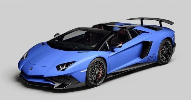 Lamborghini Aventador SV Roadster: avis de tempête