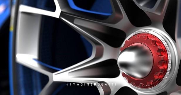 La Bugatti Vision Gran Turismo se dévoile un peu plus