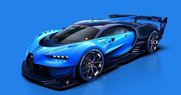 Premières images pour la Bugatti Vision Gran Turismo