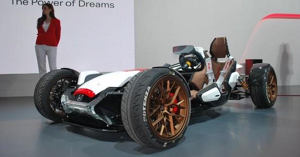 Honda Project 2&4: MotoGP sur quatre roues