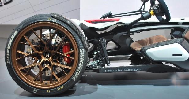 Des gènes de moto jusque dans les freins