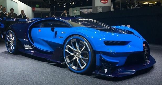 Bugatti Vision Gran Turismo : place au réel