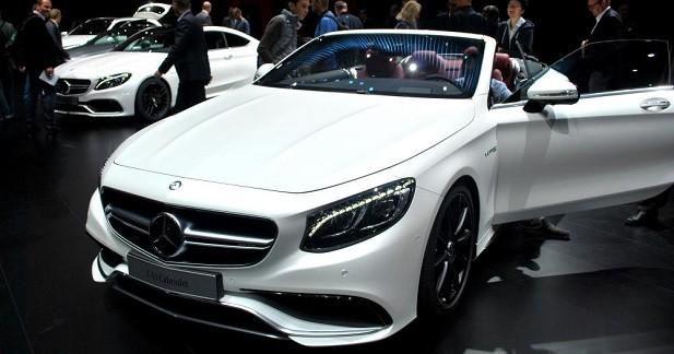 Mercedes Classe S Cabriolet: solarium étoilé