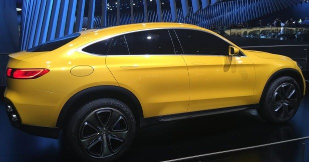 Mercedes GLC Coupé Concept : lettre d'intention