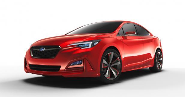Subaru Impreza Sedan Concept: esprit sportif