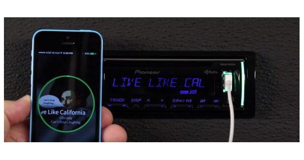 Pioneer annonce une nouvelle application Smartphone pour les autoradios CD 2016