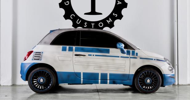 La Fiat 500 s'offre de nouveaux costumes Star Wars