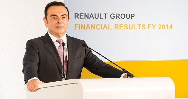 Le salaire de Carlos Ghosn continue de grimper en 2014