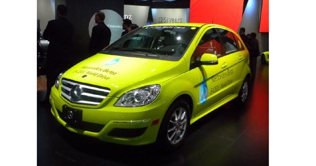 Mercedes va lancer une tournée sur le thème de l'hydrogène