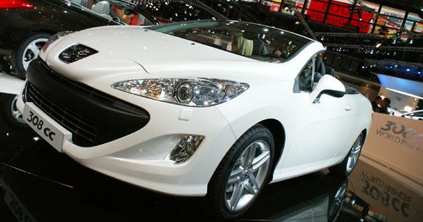 Peugeot 308 CC : vent de réussite
