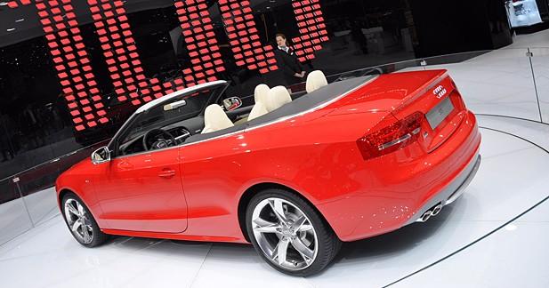 Audi A5 et S5 Cabriolet : toile de maître